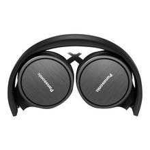 PANASONIC RP-HF500ME - Koptelefoon met micro op oor bekabeling 3,5 mm-stekker zwart