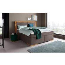 PLACES OF STYLE boxspringbed Cup, Met massief houten frame, topmatras, in 2 hardheden, 3 breedten
