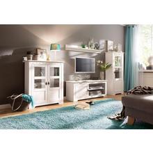 HOME AFFAIRE meuble mural Laura, lot de 3, avec 1 vitrine, TV et vitrine haute