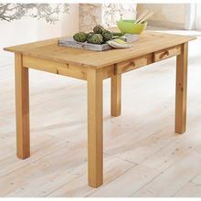 HOME AFFAIRE table de salle à manger Johan, en 2 tailles, avec tiroirs