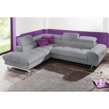 COTTA canapé d'angle, au choix avec fonction lit