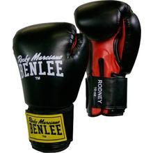 Gants de Boxe noirs & rouges BenLee Rodney 340gr