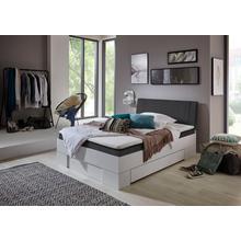 RELITA lit avec espace de rangement Sandro, tiroir