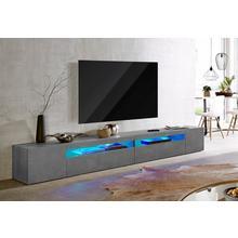 Meuble TV TECNOS, largeur 260 cm