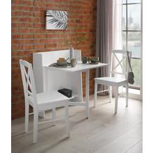 HOME AFFAIRE klaptafel Dinant, in landhuisstijl, ruimtebesparend, opvouwbaar, 84 cmbreed