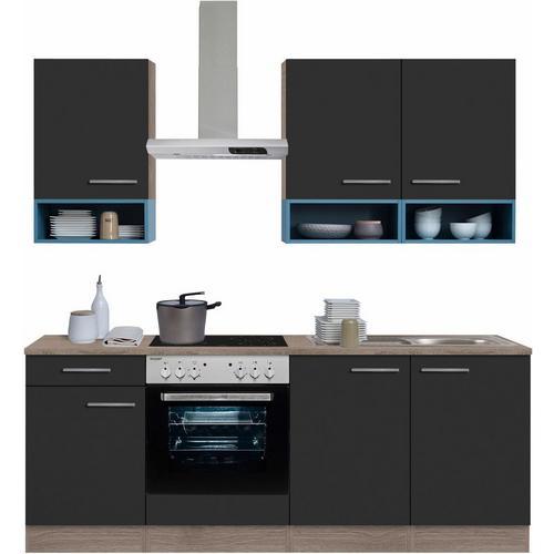 OPTIFIT bloc de cuisine Korfu, sans appareil électrique, largeur : 210 cm