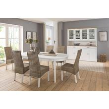 HOME AFFAIRE table de salle à manger Piano, Largeur 165 cm, extensible 265 cm