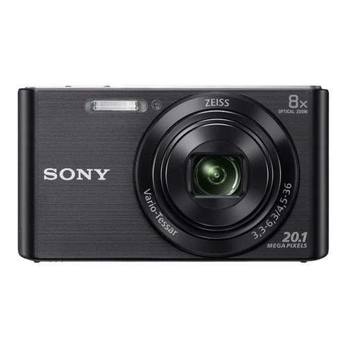 SONY Cyber-shot DSC-W830 - Digitale camera compact 20.1 MP 720p 8x optische zoom zwart