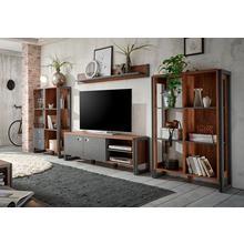 HOME AFFAIRE meuble mural Detroit Set 1, lot de 4, avec un look industriel tendance