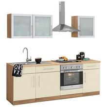 WIHO KUCHEN bloc de cuisine Aachen, sans appareil électrique, largeur : 220 cm