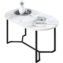 MY HOME table basse Dinise, forme ovale