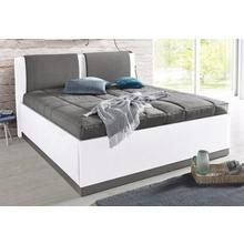 WESTFALIA SCHLAFKOMFORT lit rembourré, avec espace de rangement et couvre-lit
