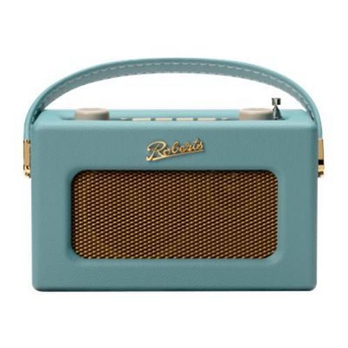 BLOCK AUDIO Roberts Revival Uno - Radio portative DAB bleu canard