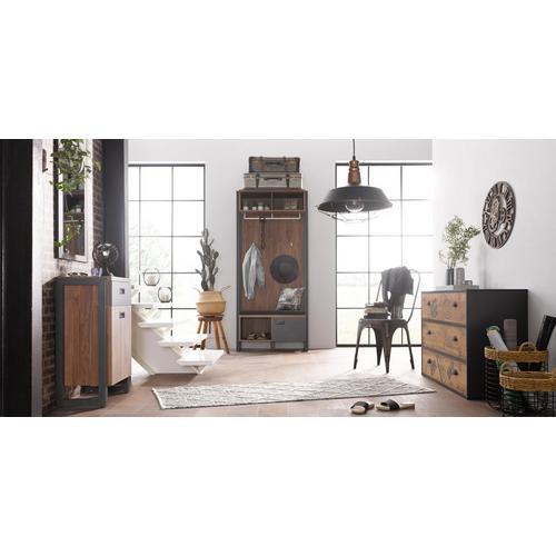 HOME AFFAIRE kleerkast Detroit, 90 cm breed, in trendy industriële look