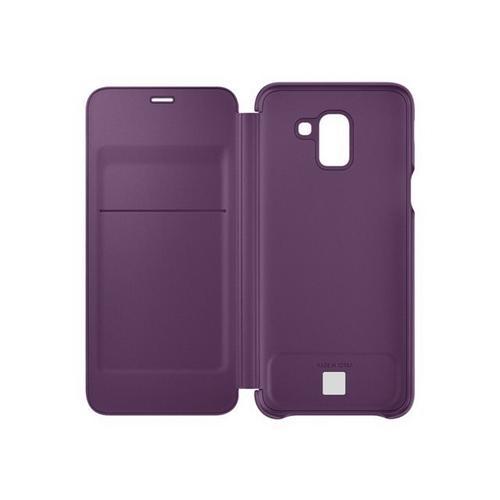 SAMSUNG Wallet Cover EF-WJ600 - Flip voor mobiele telefoon violet Galaxy J6