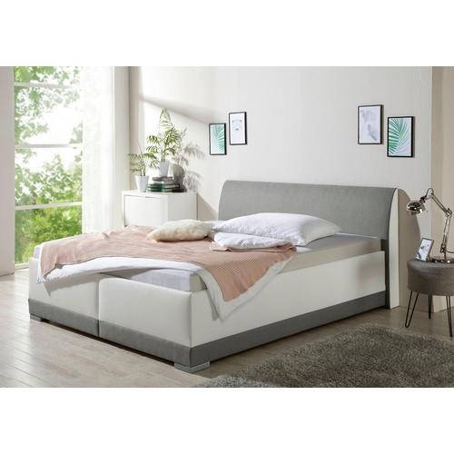 MAINTAL lit rembourré Lotus, avec espace de rangement