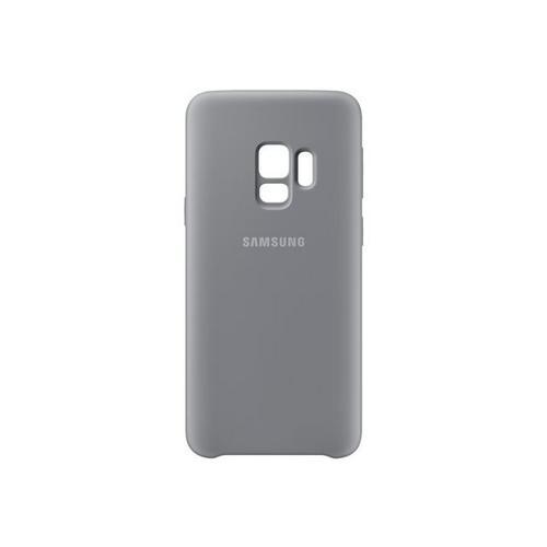 SAMSUNG Silicone Cover EF-PG960 - Coque de protection pour téléphone portable gris Galaxy S9, S9 Deluxe Edition