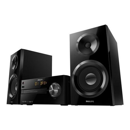 PHILIPS Micro Music System BTB2570 - Micro-système 70 Watt (Totale)