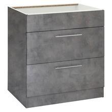WIHO KUCHEN meuble pour plaque de cuisson Cali, 110cm large, sans plan travail