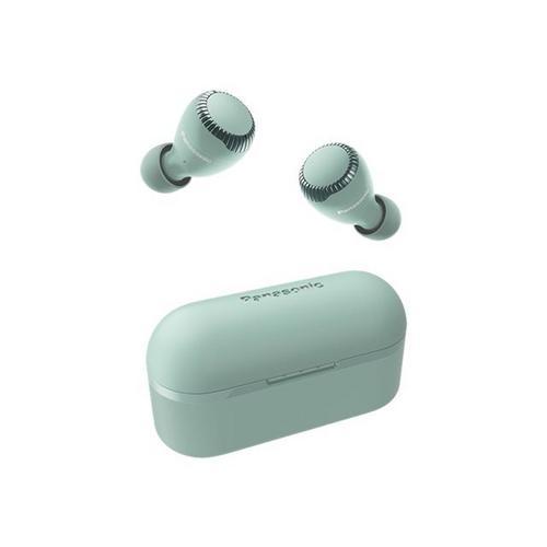 PANASONIC RZ-S300WE - Véritables écouteurs sans fil avec micro intra-auriculaire Bluetooth vert
