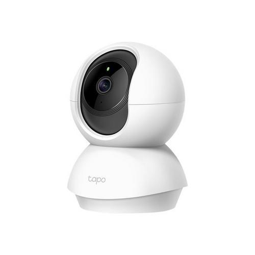 TP-LINK Tapo C200 - Netwerkbewakingscamera pan / tilt kleur (Dag en nacht) 1920 x 1080 1080p vastgesteld brandpunt audio draadloos Wi-Fi H.264 9 V gelijkstroom