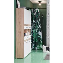 TRENDTEAM armoire haute Tone, avec façade bicolore