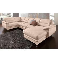 SIT & MORE salon en U, avec fonction lit option