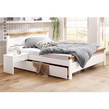 HOME AFFAIRE lit en bois massif Capre, dans 4 zones de couchage différentes