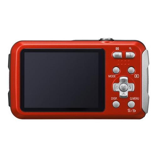 PANASONIC Lumix DMC-FT30 - Digitale camera compact 16.1 MP 720p 4x optische zoom onder water maximaal 8 meter rood