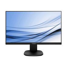 """PHILIPS S-line 243S7EJMB - LED-monitor 24"""" (23.8"""" zichtbaar) 1920 x 1080 Full HD (1080p) @ 60 Hz IPS 250 cd/m² 1000:1 5 ms HDMI, VGA, DisplayPort luidsprekers zwart, textuurzwart"""