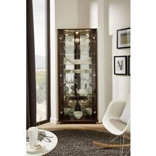 vitrine d'angle Trio, Hauteur 172 cm