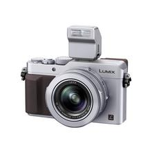 PANASONIC Lumix DMC-LX100 - Digitale camera compact 12.8 MP Four Thirds 4K / 25 beelden per seconde 3.1x optische zoom Leica Wi-Fi, NFC zilver