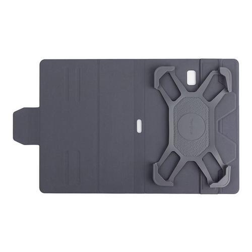 """TARGUS Pro-Tek Rotating Universal - Flip cover voor tablet polyurethaan zwart 10"""""""