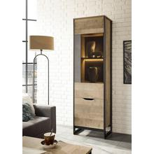 PLACES OF STYLE vitrinekast Malthe, in trendy design