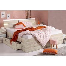 lit avec espace de rangement Mars, 2 tiroirs inclus