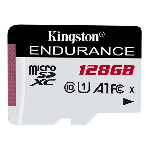 KINGSTON High Endurance - Flashgeheugenkaart 128 GB A1 / UHS-I U1 Class10 microSDXC