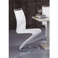 HOMEXPERTS chaise de salle à manger Helen, lot 2, avec poignée (2 pièces)