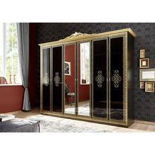 armoire à portes pivotantes Eliza, style baroque