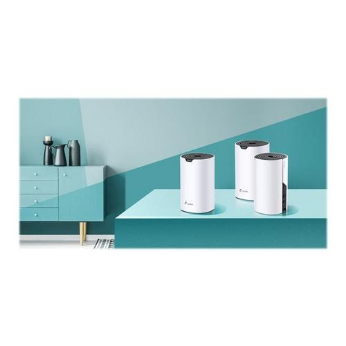 TP-LINK Deco S4 - Wifi-systeem (3 routers) tot 5500 vierkante voet maas GigE 802.11a/b/g/n/ac Dual Band