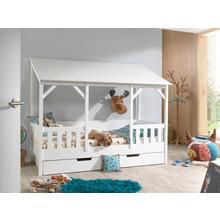 VIPACK lit en forme de maison, option avec tiroir
