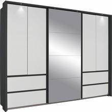 RAUCH armoire à portes flottantes Wetzlar, avec miroir
