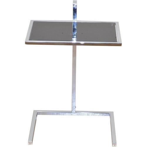 HOME AFFAIRE table d'appoint, avec cadre chromé