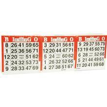 Bingo kaarten 1500 vel