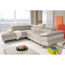 INOSIGN canapé d'angle, avec fonction lit en option
