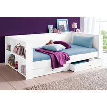 lit avec espace de rangement