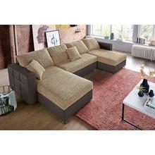 SIT & MORE salon en U, Fonction lit et tiroir de inclus