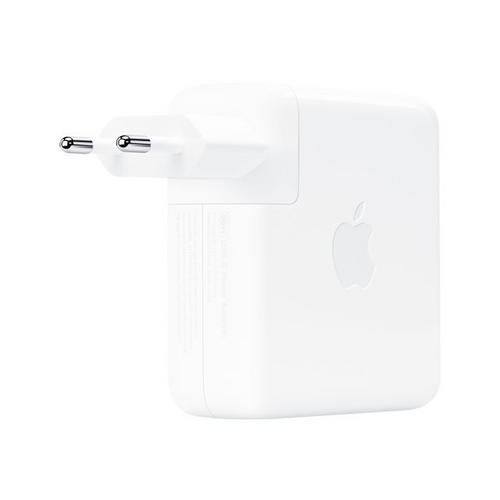 APPLE USB-C - Netspanningsadapter 96 Watt EMEA voor MacBook (Early 2015, Early 2016, Mid 2017); Air with Retina display 2020, Late 2018, 2019); Pro (Late 2019, 2017, 2019)