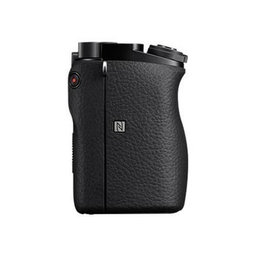 SONY a6000 ILCE-6000 - Appareil photo numérique sans miroir 24.3 MP APS-C corps uniquement Wi-Fi, NFC noir