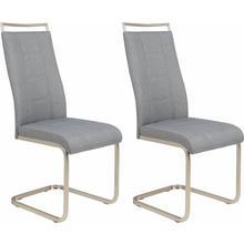 HELA chaise en porte-à-faux Amber, lot de 2, 2 ou 4 pièces