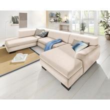 HOME AFFAIRE U-salon Nika, Zithoek, MELROSE®, PRIMABELLE® of structuur, naar keuzemet slaapfunctie